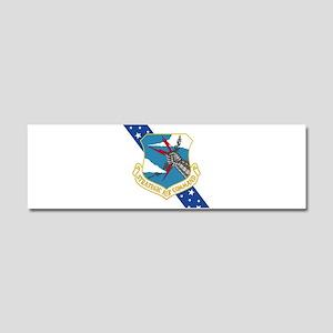 SAC Banner Car Magnet 10 x 3