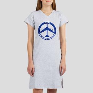 B-52G Peace Sign Women's Nightshirt