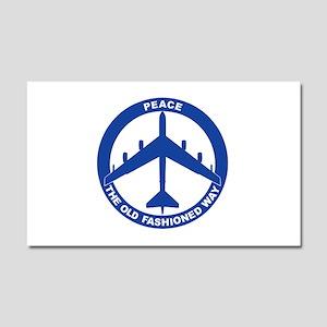 B-52G Peace Sign Car Magnet 20 x 12