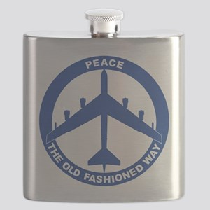 B-52H Peace Sign Flask