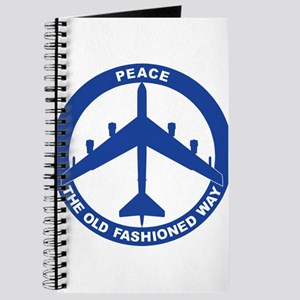 B-52H Peace Sign Journal