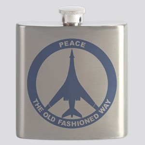 B-1B - Peace The Old Fashioned Way Flask