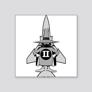 "F-4 Phantom II Spook #2 Square Sticker 3"" x 3"""
