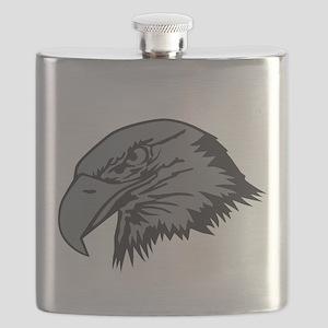 F-15 Eagle Logo 1 Flask