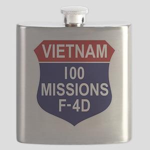 F-4D Phantom II Flask