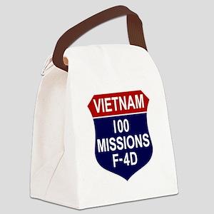 F-4D Phantom II Canvas Lunch Bag