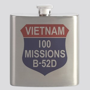 100 MISSIONS - B-52D Flask