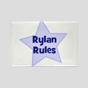 Rylan Rules Rectangle Magnet