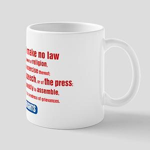 1st Amendment Mug