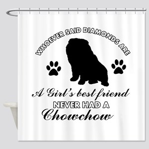 Chow Chow Mommy designs Shower Curtain