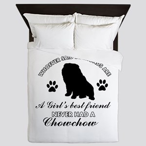 Chow Chow Mommy designs Queen Duvet