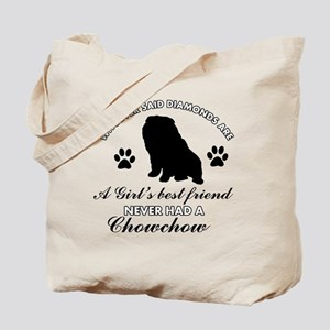 Chow Chow Mommy designs Tote Bag