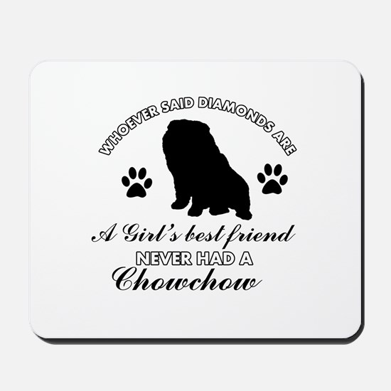 Chow Chow Mommy designs Mousepad
