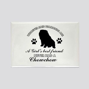Chow Chow Mommy designs Rectangle Magnet