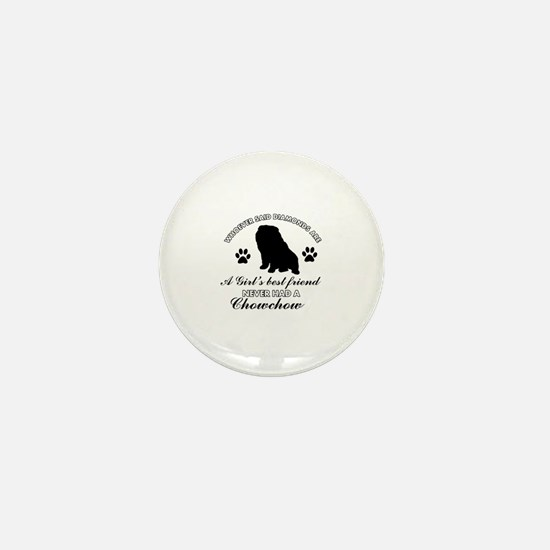 Chow Chow Mommy designs Mini Button