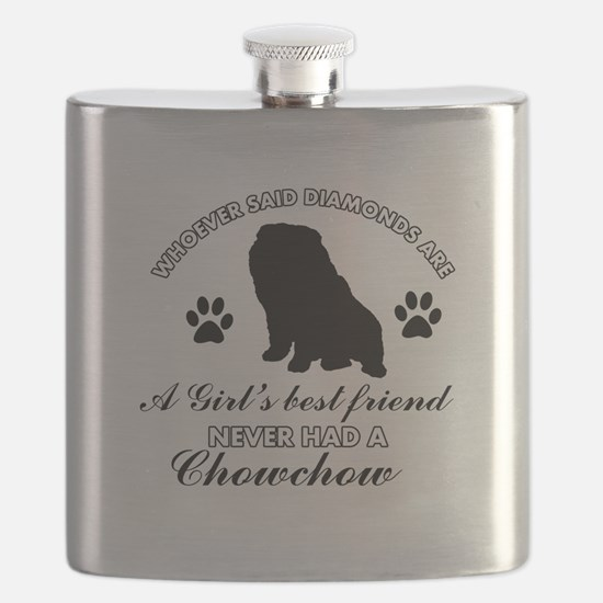 Chow Chow Mommy designs Flask