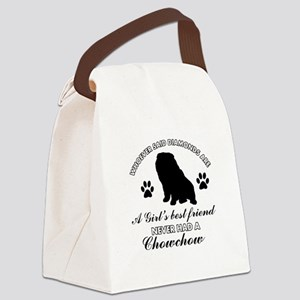 Chow Chow Mommy designs Canvas Lunch Bag