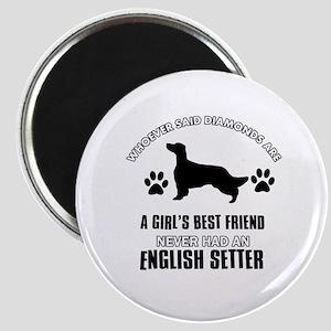 English Setter Mommy designs Magnet