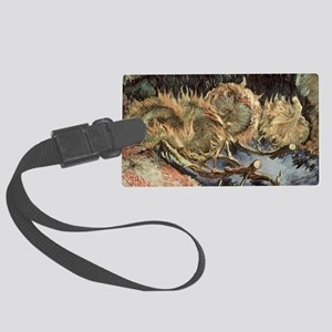 (oil on canvas) - Large Luggage Tag