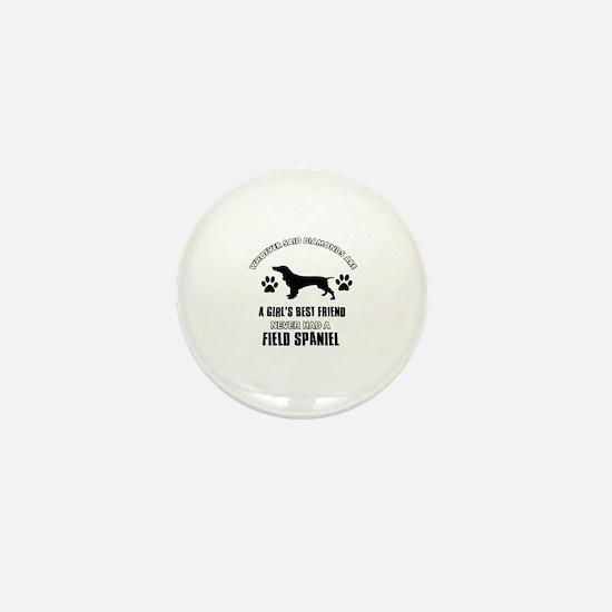 Field Spaniel Mommy designs Mini Button