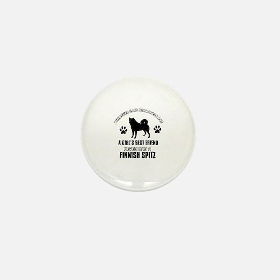Finnish Spitz Mommy designs Mini Button