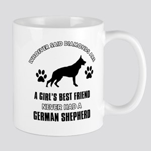 German Shepherd Mommy designs Mug