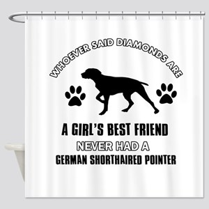 German Shorthaired Pointer Mommy designs Shower Cu