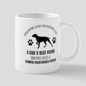 German Shorthaired Pointer Mommy designs Mug