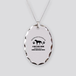German Shorthaired Pointer Mommy designs Necklace
