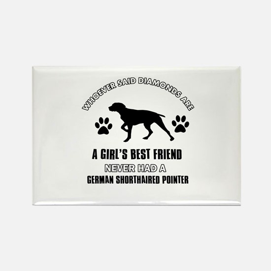 German Shorthaired Pointer Mommy designs Rectangle