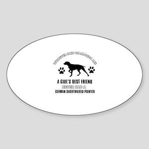 German Shorthaired Pointer Mommy designs Sticker (