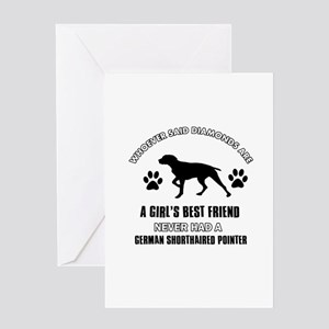 German Shorthaired Pointer Mommy designs Greeting
