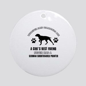 German Shorthaired Pointer Mommy designs Ornament