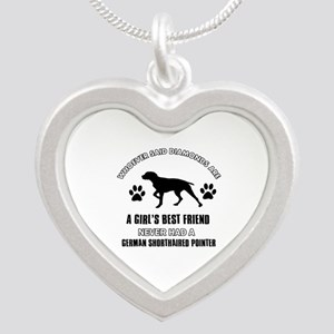German Shorthaired Pointer Mommy designs Silver He