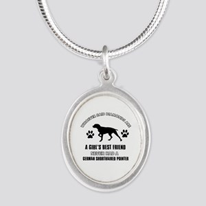 German Shorthaired Pointer Mommy designs Silver Ov