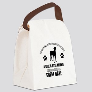 Great Dane Mommy designs Canvas Lunch Bag