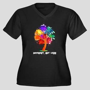 Different, not less! Plus Size T-Shirt