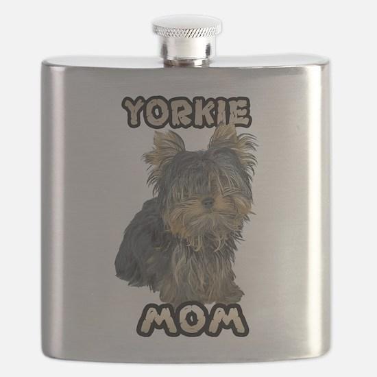 Yorkshire Terrier Mom Flask