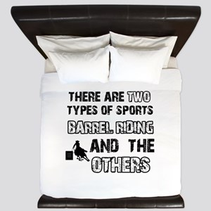 Barrel Riding designs King Duvet