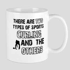 Curling designs Mug