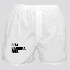 Best Grandma Ever Boxer Shorts