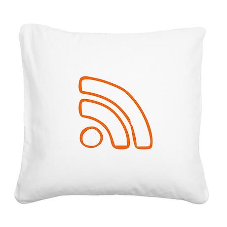RSS Square Canvas Pillow