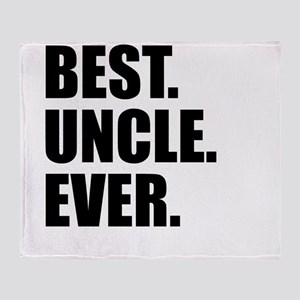 Best Uncle Ever Throw Blanket
