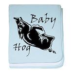 Baby Hog baby blanket
