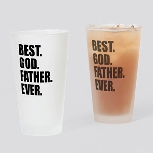 Best Godfather Ever Drinking Glass