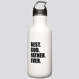 Best Godfather Ever Water Bottle