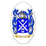 Boesen Sticker (Oval 10 pk)