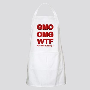 GMO OMG WTF Are We Eating? Apron