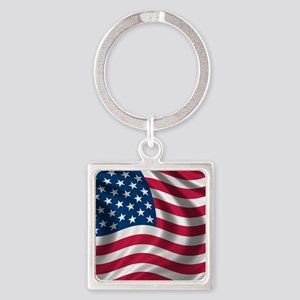 USA Flag Keychains