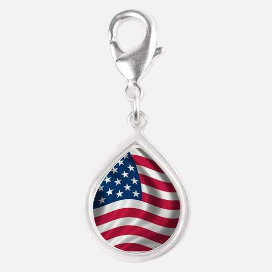 USA Flag Charms